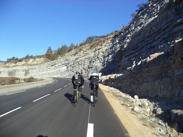 Première sortie hivernale avec Gil et Gégé le breton ! 109 kilomètres et des cols ! (photos 2)