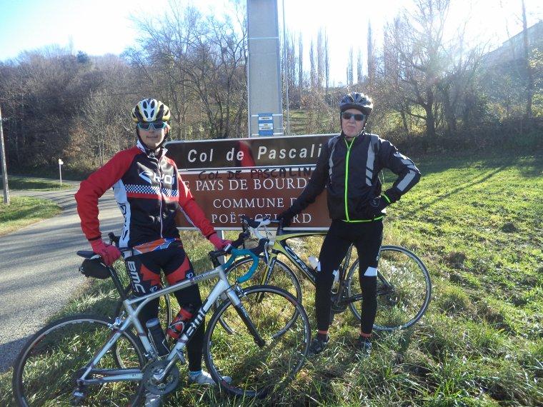 Première sortie hivernale avec Gil et Gégé le breton ! 109 kilomètres et des cols ! (photos 3)