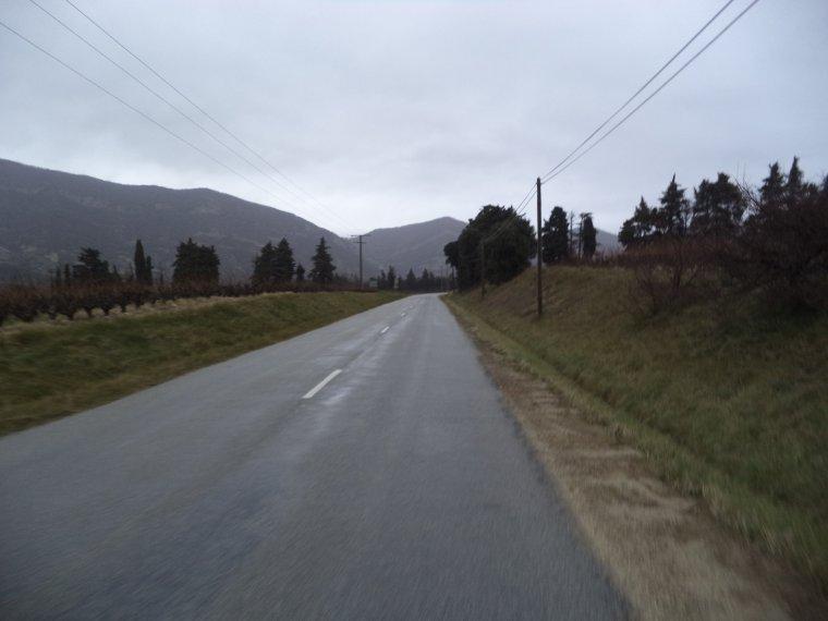 Montée au col de Valouse avec le froid et la neige fondu ! 64km