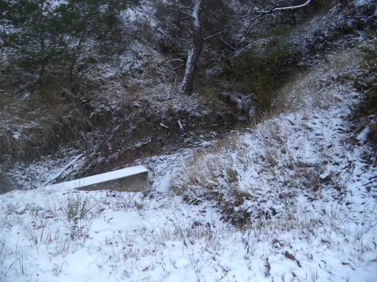 En vélo à Comps sous une tempête de neige !   -12°C !!! 66km (photos 3)