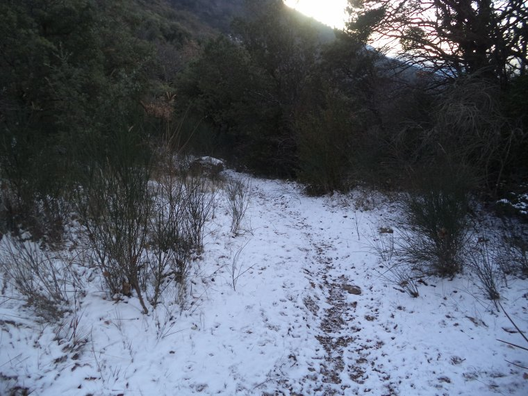 Grande randonnée seul à la montagne de la Lance !  neige, vent, brouillard, -22°C et 15 kilomètres