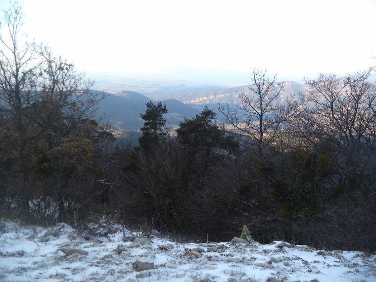 Grande randonnée seul à la montagne de la Lance !  neige, vent, brouillard, -22°C et 15 kilomètres (photos 3)