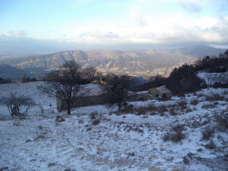 Grande randonnée seul à la montagne de la Lance !  neige, vent, brouillard, -22°C et 15 kilomètres (photos 4)