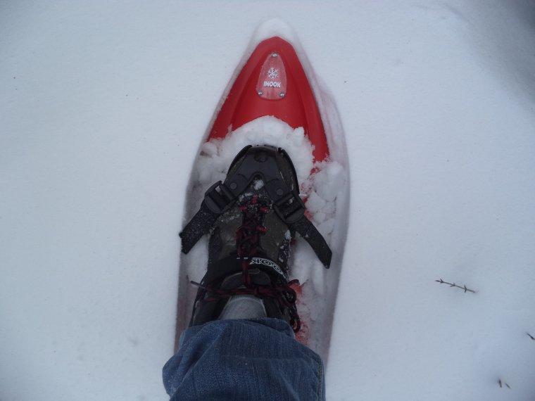 Grande randonnée seul à la montagne de la Lance !  neige, vent, brouillard, -22°C et 15 kilomètres (photos 8)