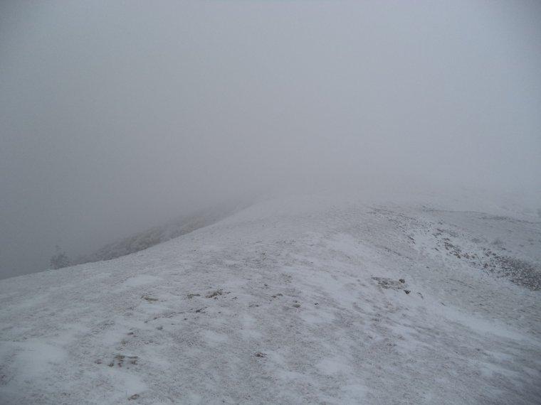 Grande randonnée seul à la montagne de la Lance !  neige, vent, brouillard, -22°C et 15 kilomètres (photos 10)