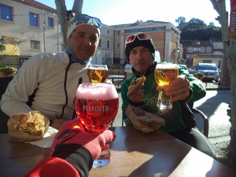 Montée au chalet Reynard (1440m) de la Saint-Sylvestre avec Gil et Bruno, 80 kilomètres (photos 3)