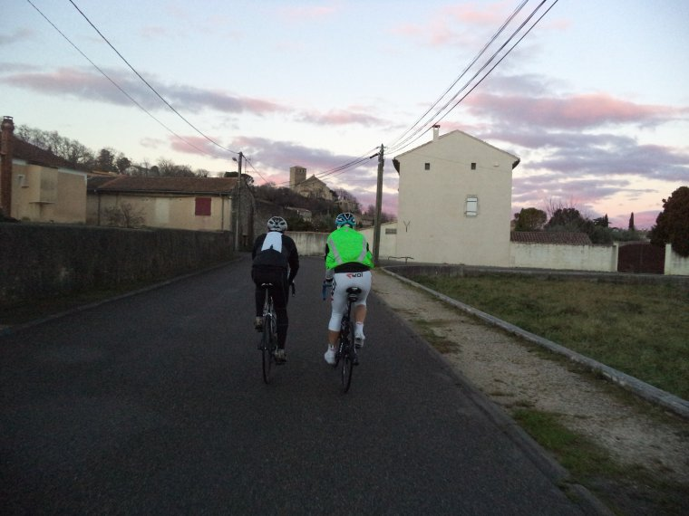 Sortie en Ardèche avec le BCB, 86km