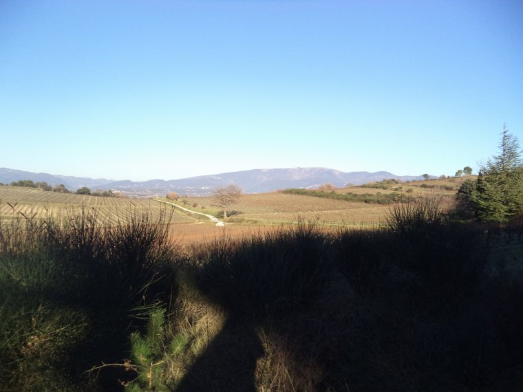 Balade à vélo en campagne, 45km