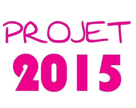 Mes projets en 2015