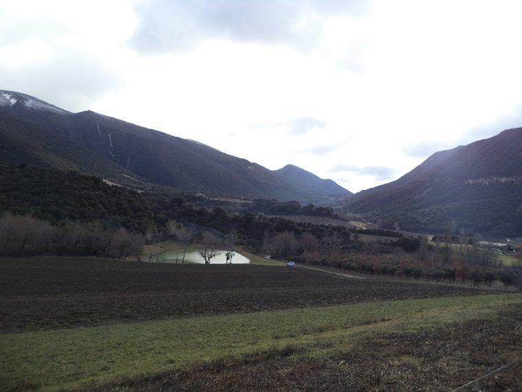 Balade au col du Pègue, 29km