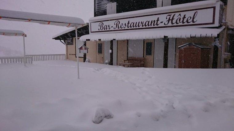 La neige arrive sur nos départements