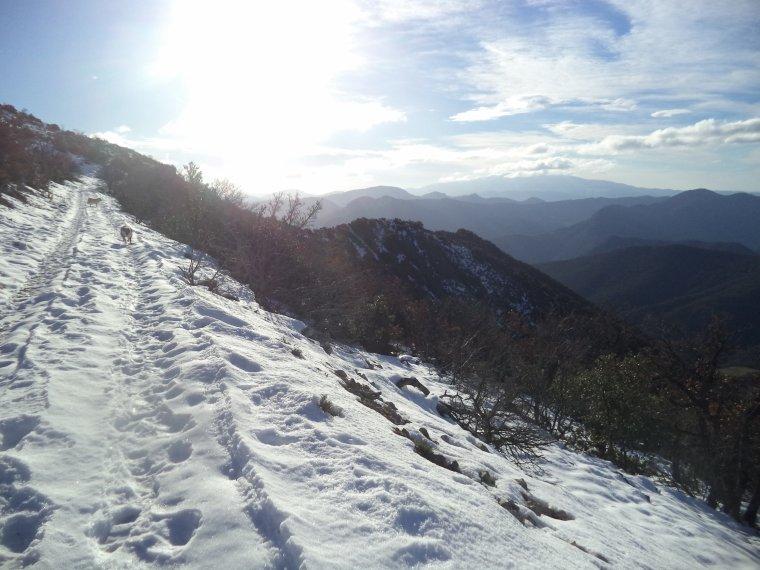 Grande randonnée au Cougoir (1221m) avec 1 mètres de neige !!! (photos 2)