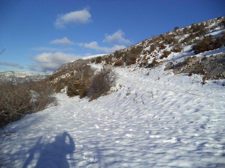 Grande randonnée au Cougoir (1221m) avec 1 mètres de neige !!! (photos 3)