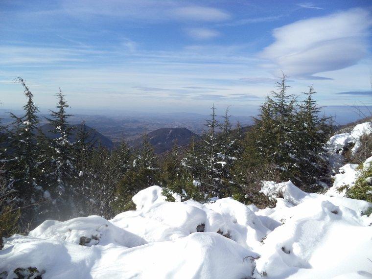 Grande randonnée au Cougoir (1221m) avec 1 mètres de neige !!! (photos 5)