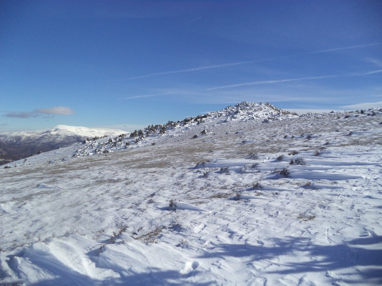 Grande randonnée au Cougoir (1221m) avec 1 mètres de neige !!! (photos 8)