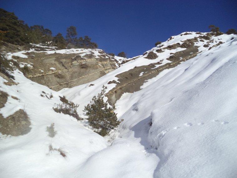 Grande randonnée au Cougoir (1221m) avec 1 mètres de neige !!! (photos 10)