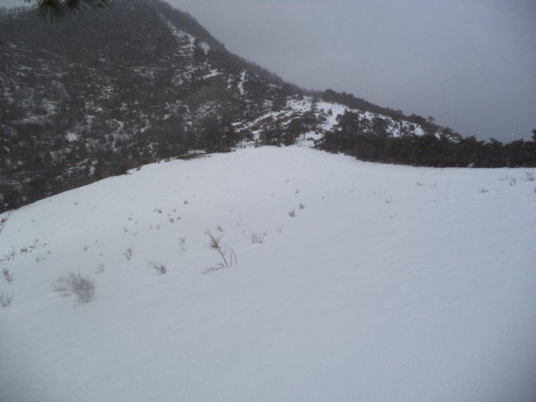 Randonnée à la montagne de la croix avec 30cm de neige et sous la neige ! (photos 3)