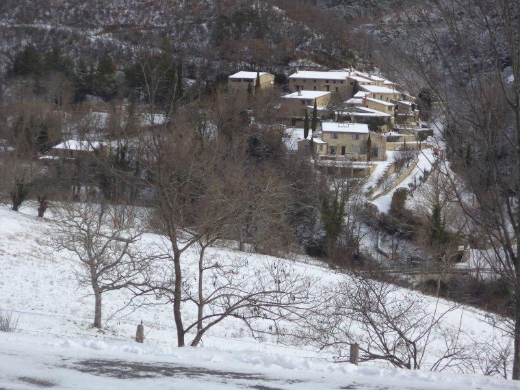 Ascension du col de Valouse avec la neige, plus beau tour de vélo de l'année, (photos 5)