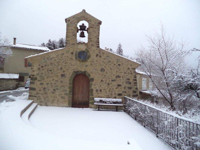 Balade aux Auberts avec la neige, photos (2)