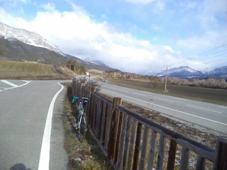 Voyage à vélo à travers les alpes Drômoise, étape 2 : Chastel arnaud - St Nazaire le désert par le col de Pennes