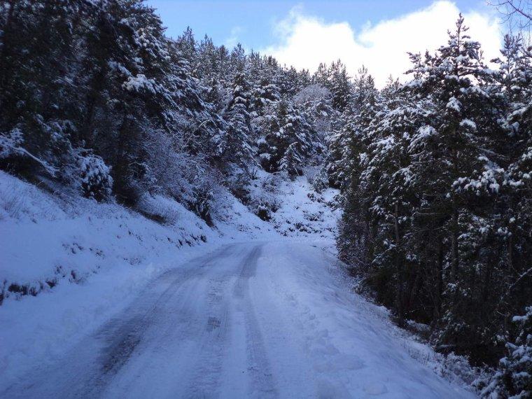 Voyage à vélo à travers les alpes Drômoise, étape 2 : Chastel arnaud - St Nazaire le désert par le col de Pennes, photos (2)