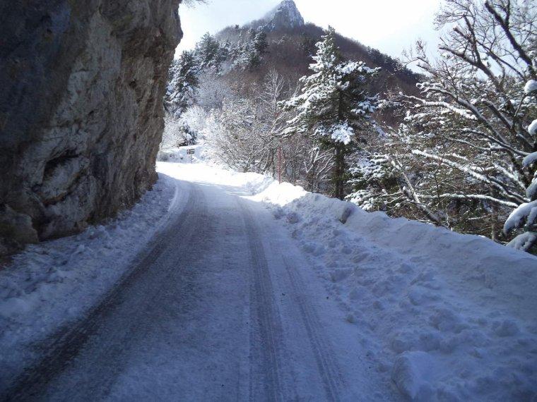 Voyage à vélo à travers les alpes Drômoise, étape 2 : Chastel arnaud - St Nazaire le désert par le col de Pennes, photos (3)