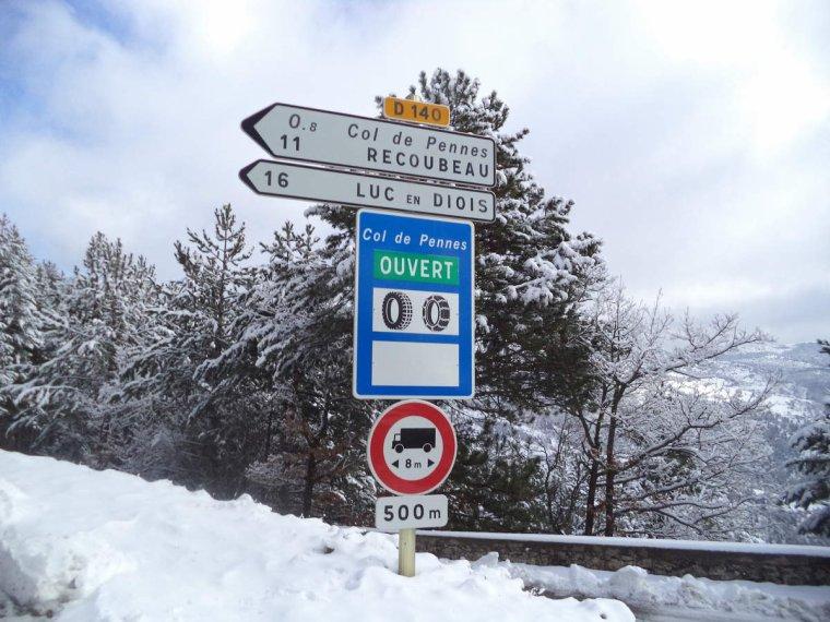 Voyage à vélo à travers les alpes Drômoise, étape 2 : Chastel arnaud - St Nazaire le désert par le col de Pennes, photos (4)