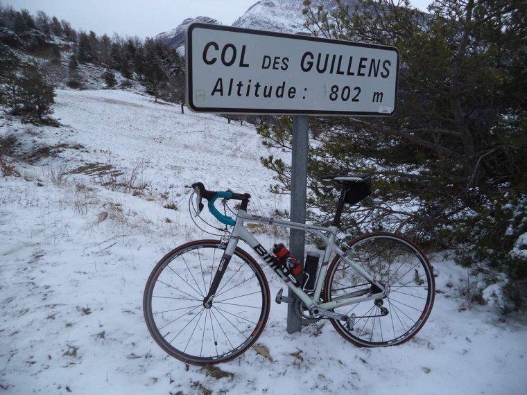 Voyage à vélo à travers les alpes Drômoise, étape 3 : St Nazaire le désert-Valréas par le col Lescou