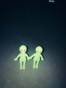 """Lady gaga n'est pas sur la chanson """"alien """""""