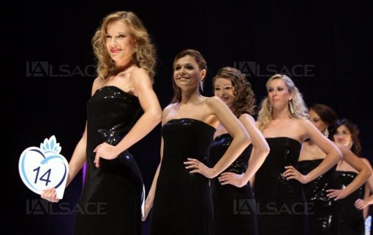 Election Miss Alsace 2014