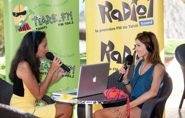 Interview Alexandra Rosenfeld sur Radio 1 (Polynésie)