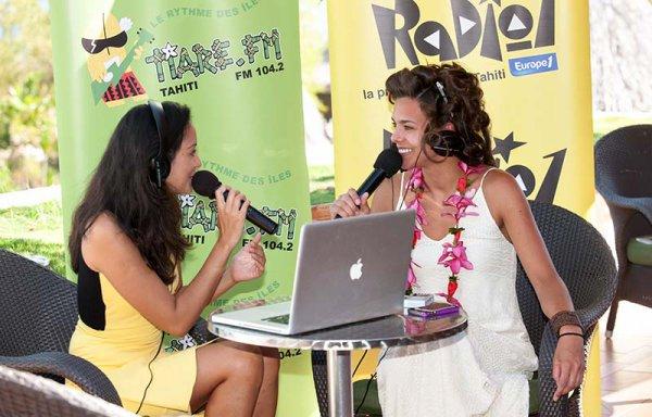 Interview Marine Lorphelin sur Radio 1 (Polynésie)