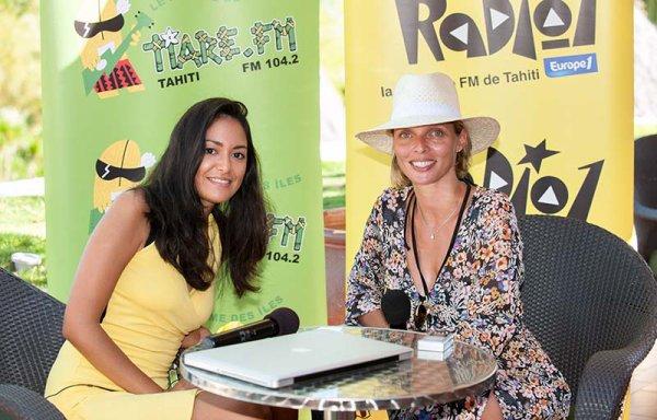 Interview Sylvie Tellier sur Radio 1 (Polynésie)