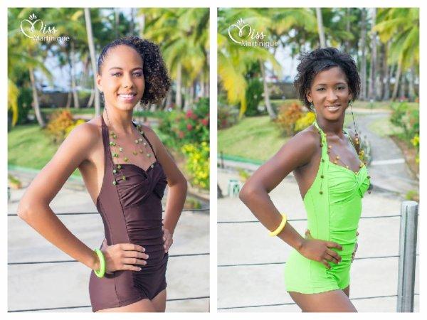 Candidates Miss Martinique 2014 - Maillot de Bain