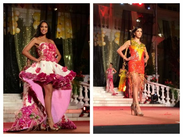 Miss Tahiti 2014 - Défilé des candidates