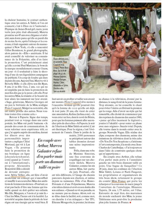 Miss Tahiti - Paris Match