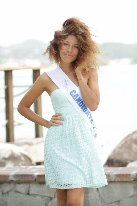 Nadika Matthew-Gauthier - Miss Saint-Martin 2014