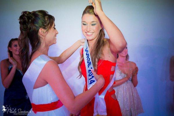 Dorine Rossi - Miss Corse 2014