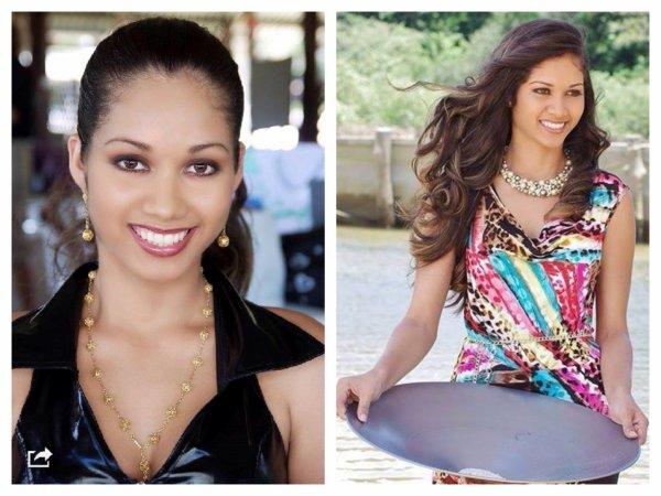 Valéria Coelho Maciel - Miss Guyane 2014