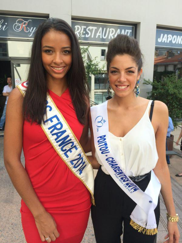 Mathilde Hubert - Miss Poitou-Charentes 2014