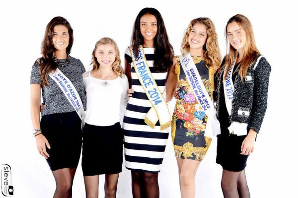 Flora Coquerel - Election Miss Franche-Comté 2014