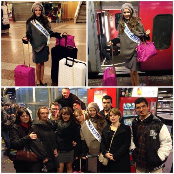 Arrivée des Miss à Paris