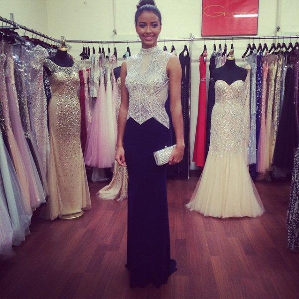 Flora Coquerel - Préparation Miss Monde