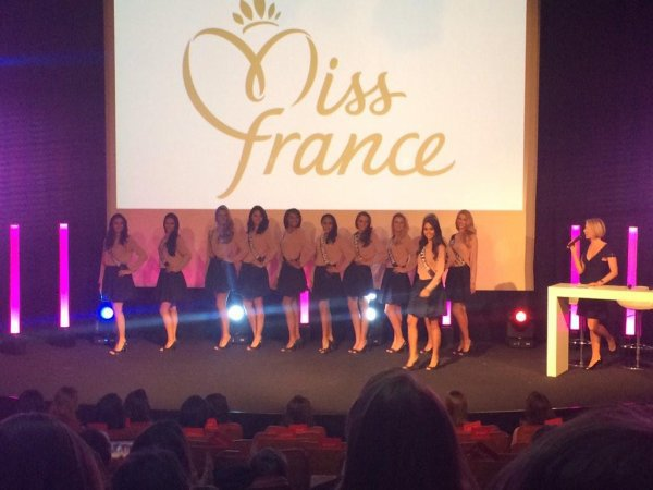 Miss France 2015 - Conférence de presse