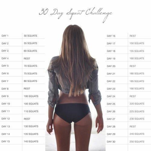 squat challenge ♥♥