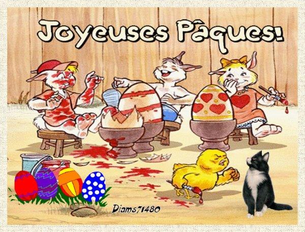 Bonnes Fêtes de Pâques! ;) ;) ;)