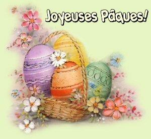 ...Bon Lundi de Pâques! Un café pour pousser les chocolats? ;) :D  ;)