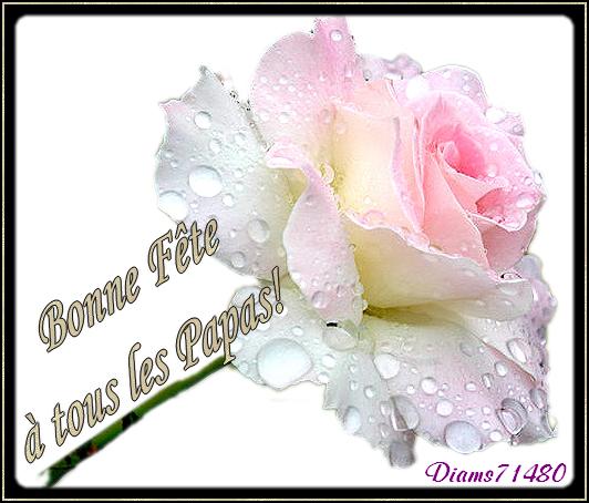 Bisous à Filou et Merci! - Bonne Fête à tous les Papas aussi (l) (u) (l) ;)