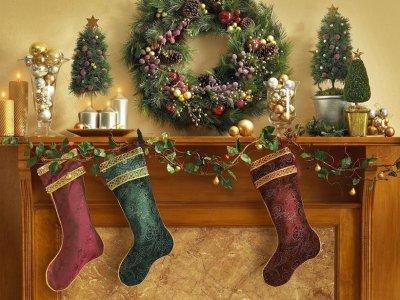 Une soirée épuisante...pour le Père Noël ;) :) :)