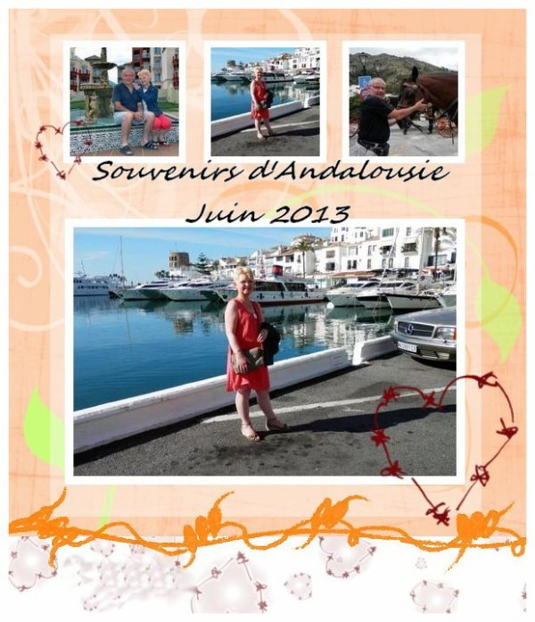 Des souvenirs d'Andalousie, c'était si beau ! (u)